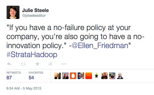 Ellen Friedman tweet