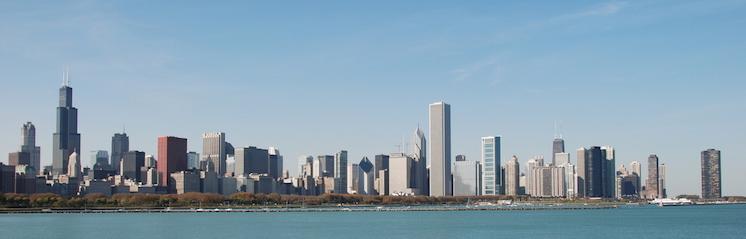 Skyline of Chicago