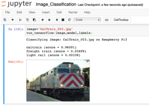 TensorFlow Image Recognition on a Raspberry Pi